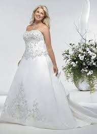robe de mariã e pour ronde robe de mariée en satin broderie et perles look1141 189 00