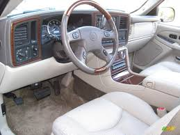 cadillac jeep interior shale interior 2003 cadillac escalade esv awd photo 56620091