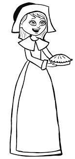 how to draw pilgrim for thanksgiving step by step