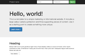 bootstrap 3 templates
