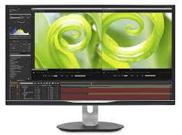 4k lcd monitor with ultra wide color 328p6vjeb 75 philips