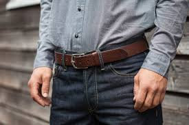 hand made darlington leather belt tanner bates