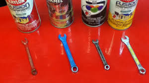 colour code your tools to easily locate the required size