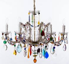 Multi Coloured Chandeliers The Vintage Chandelier Companymulti Coloured Archives The