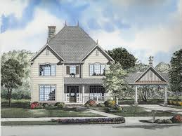 House With Carport Victorian Garage Designs One Story Folk Victorian House Plans