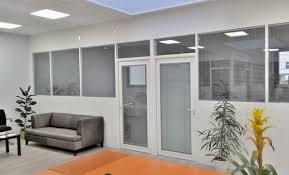 cloison aluminium bureau cloison aluminium modulaire cloison de bureau aluminium techni
