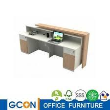 2 Person Reception Desk Modern Public Office Hotel Salon Two Person Reception Desk Buy