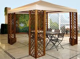 gazebo da giardino in legno prezzi gazebo da giardino in legno plastica o ferro