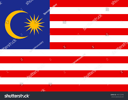 Malaysai Flag Flat Malaysia Flag Vector Background Stock Vector 445173748