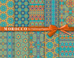 moroccan wrapping paper digital paper carpet moroccan