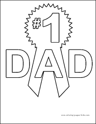 fathers day coloring page for kids sunday pinterest
