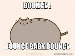 Pusheen The Cat Meme - bounce bounce baby bounce pusheen cat gif make a meme