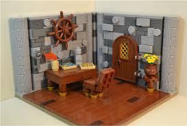 mini moc the travelers room lego historic themes eurobricks
