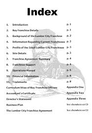 the disclosure document 1 introduction 2 key franchise details 3