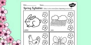 literacy activities and worksheets primary resources page 5