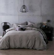 silver duvet covers and bedding set ebay