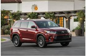 toyota best suv the best labor day suv leases u s report