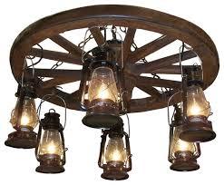 Wagon Wheel Lighting Fixtures Ww022 Wagon Wheel Chandeliers With Downlights Light Fixtures