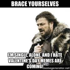 I Hate Valentines Day Meme - i hate valentines day quotes tumbler poems memes ecards images