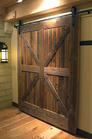 Sliding Wooden Doors Interior Barn Style Doors Interior To New Sliding Wood Regarding