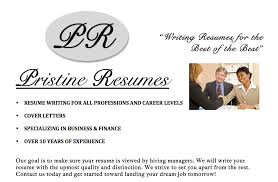 finance resume writers professional resume writing service by cprw
