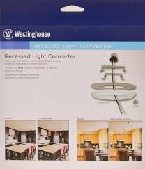 westinghouse recessed light converter