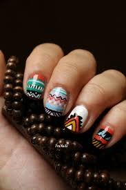 36 best aztec nails images on pinterest aztec nails make up and