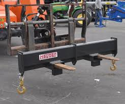 forklift spreader bar with center lift hook added 10000 lb
