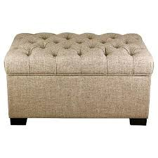Taupe Ottoman Taupe Tufted Storage Ottoman