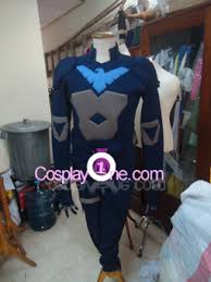 Nightwing Halloween Costume Nightwing Young Justice Version Batman Costume Cosplay1