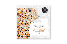 vive le color africa coloring book paperback abrams