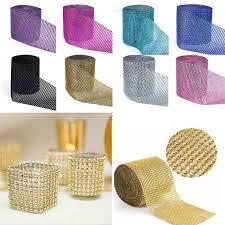 online get cheap wedding crystal ribbon decoration aliexpress com