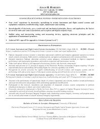 Electrical Testing Engineer Resume Avionics Technician Resume Resume For Your Job Application