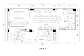 Restaurant Layouts Floor Plans by Gallery Of Paper Folding Space Elle Office Feeling Brand