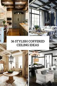 Ceiling Ideas Kitchen by 36 Stylish And Timeless Coffered Ceiling Ideas For Any Room