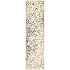 Cheetah Runner Rug Amazon Com Safavieh Paradise Collection Par84 404 Cream Viscose