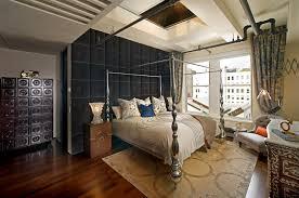 metal nightstand bedroom eclectic with area rug bone inlay cabinet