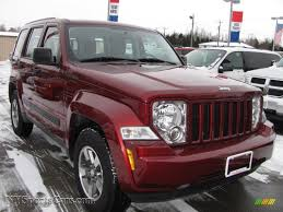 red jeep liberty 2008 jeep liberty sport 4x4 in red rock crystal pearl 281208