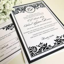 free printable wedding invitations black and white lake side corrals