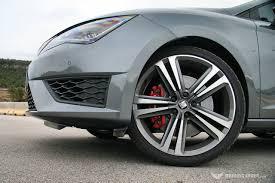 seat leon cupra 280 wheel 2014 driving spirit