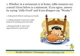 table manners for kids printable 53 list of table manners for kids tablemannersgif warehousemold com