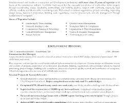 Resume Manager Sample Construction Manager Resume Sample Template Construction Manager