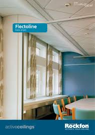 Rockfon Mono Acoustic Ceilings by Flectoline Rockfon Pdf Catalogues Documentation Brochures