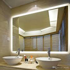 Lighted Bathroom Mirror by Modern European Style Home Decor Bath Mirror Type Led Lighted