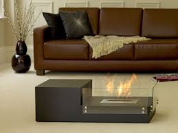 Sofa Set Table Chic Indoor Fire Pit Coffee Table With Modern Living Room Ideas