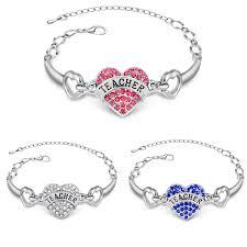 s day bracelet aliexpress buy 2016 new design heart bracelet pink