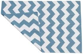 Area Rugs In Blue by Carpet Area Rug In Blue U0026 White Chevron U2013 Hand Woven Wool