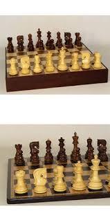 Buy Chess Set Vintage Chess 19088 Game Chess Chopra Sheesham Wood Rosewood