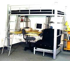 Loft Bed With Futon Underneath Loft Bed With Futon Underneath Bunk Beds Size Pull Out