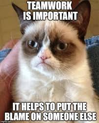 Teamwork Memes - the true meaning of teamwork imgflip